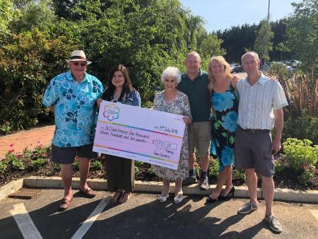 Epping in Bloom raised  £2,565 this year