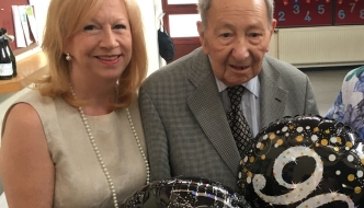 Community stalwart and friend of Winston Churchill celebrates 90th birthday