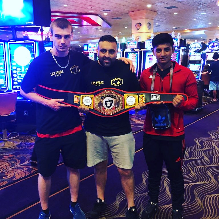 East London Boxing Academy's Jack Daly and Hasnan Ali were part of the London squad which beat some of America's rising stars. Picture: East London Boxing Academy.