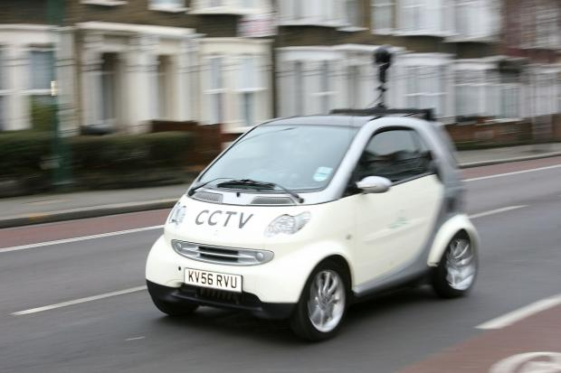 CCTV enforcement car in Waltham Forest
