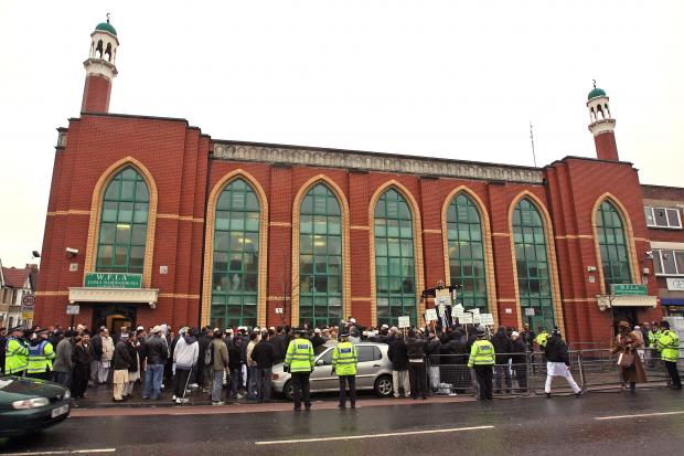 East London and West Essex Guardian Series: A recent protest outside the Lea bridge Road Mosque
