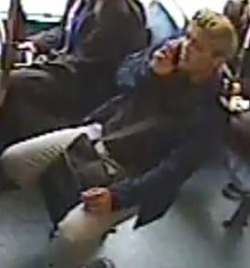 Do you recognise this man? Police want to speak to him about an assault on the 97 bus in Waltham Forest
