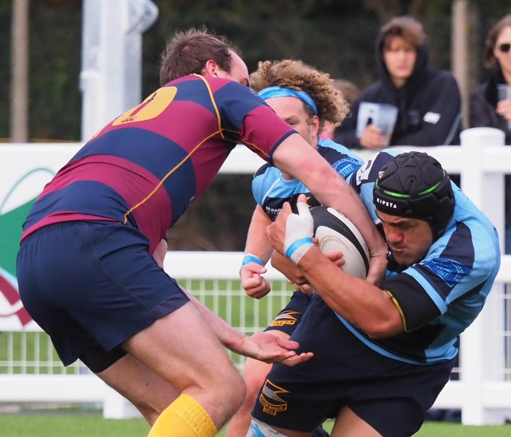Eton Manor had victory snatched away from them by H.A.C at the weekend. Picture: Martin Pearl