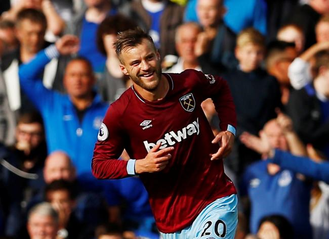 buy online a7061 7a20c West Ham United: Andriy Yarmolenko scores twice in Everton ...