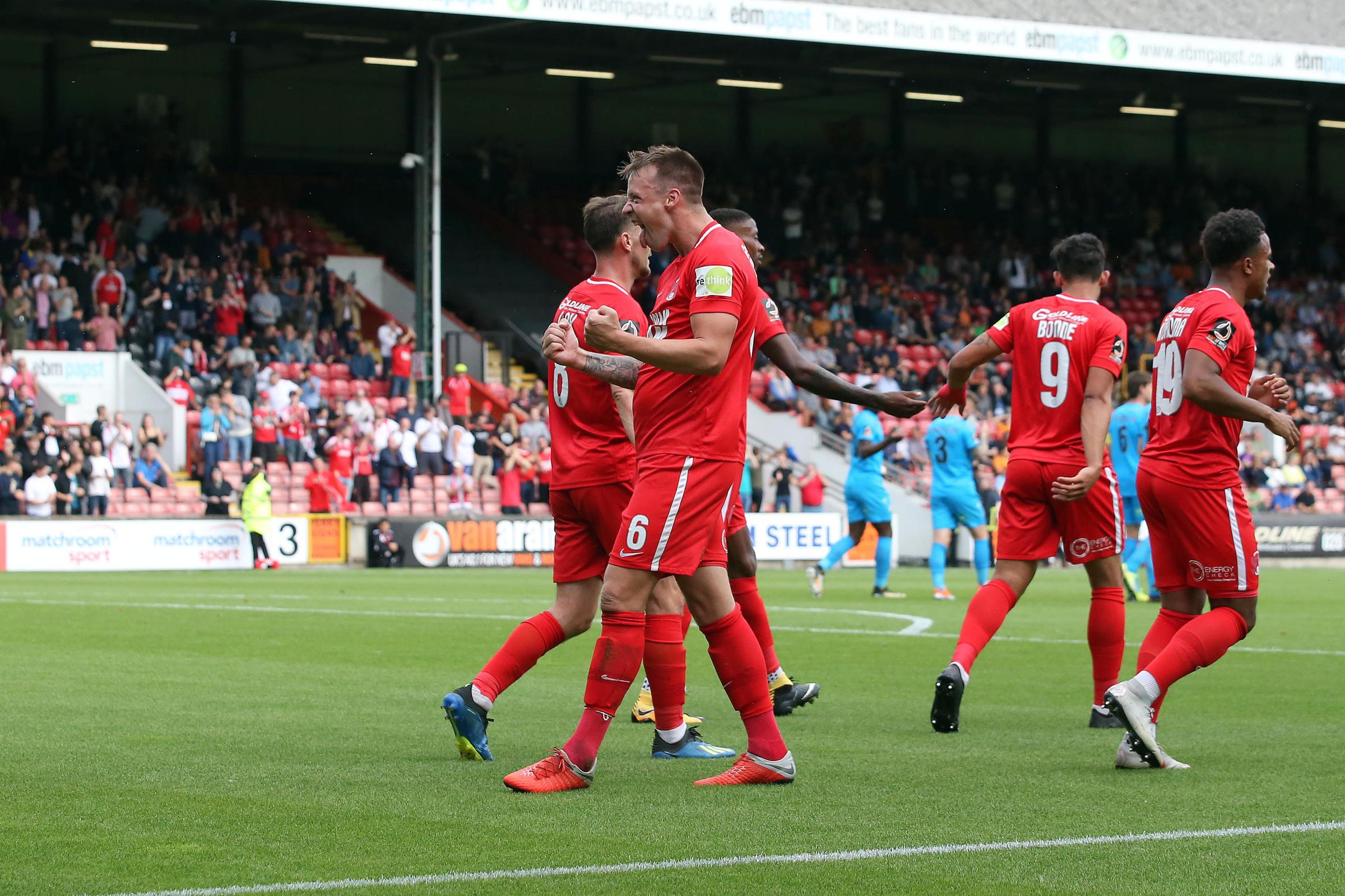 Josh Coulson praised Leyton Orient's character after Saturday's 3-1 win over Barnet. Picture: Simon O'Connor.