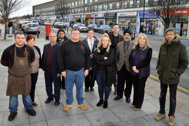 In March, traders in Debden said they feel forced out of the high street