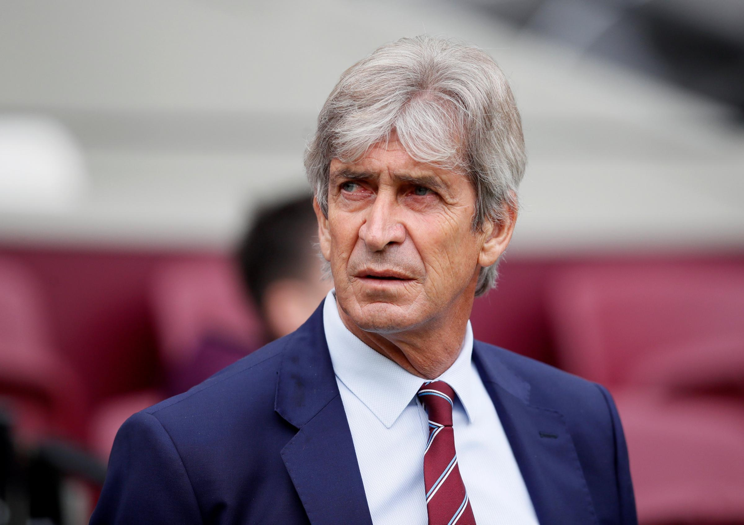 Manuel Pellegrini is set to make changes. Picture: Action Images