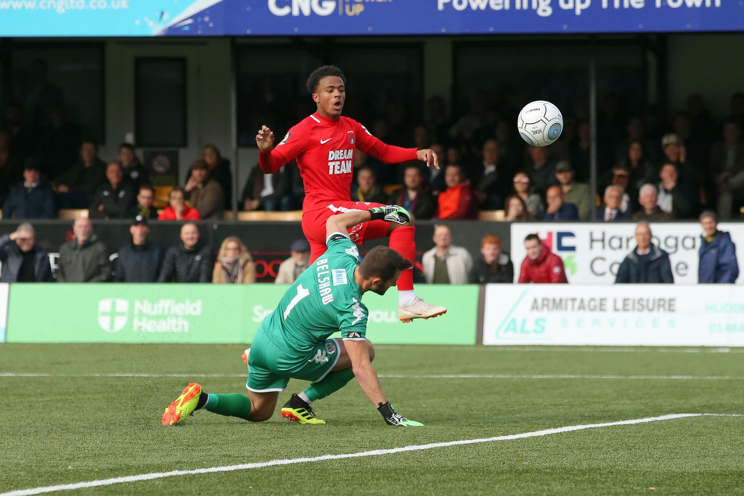 Josh Koroma netted twice and also claimed an assist. Picture: Simon O'Connor