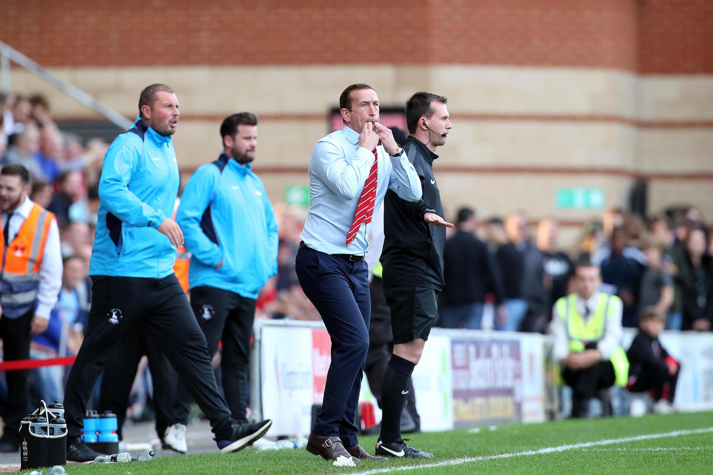 Justin Edinburgh was pleased with the impact of Leyton Orient's substitutes against Hartlepool United. Picture: Simon O'Connor.