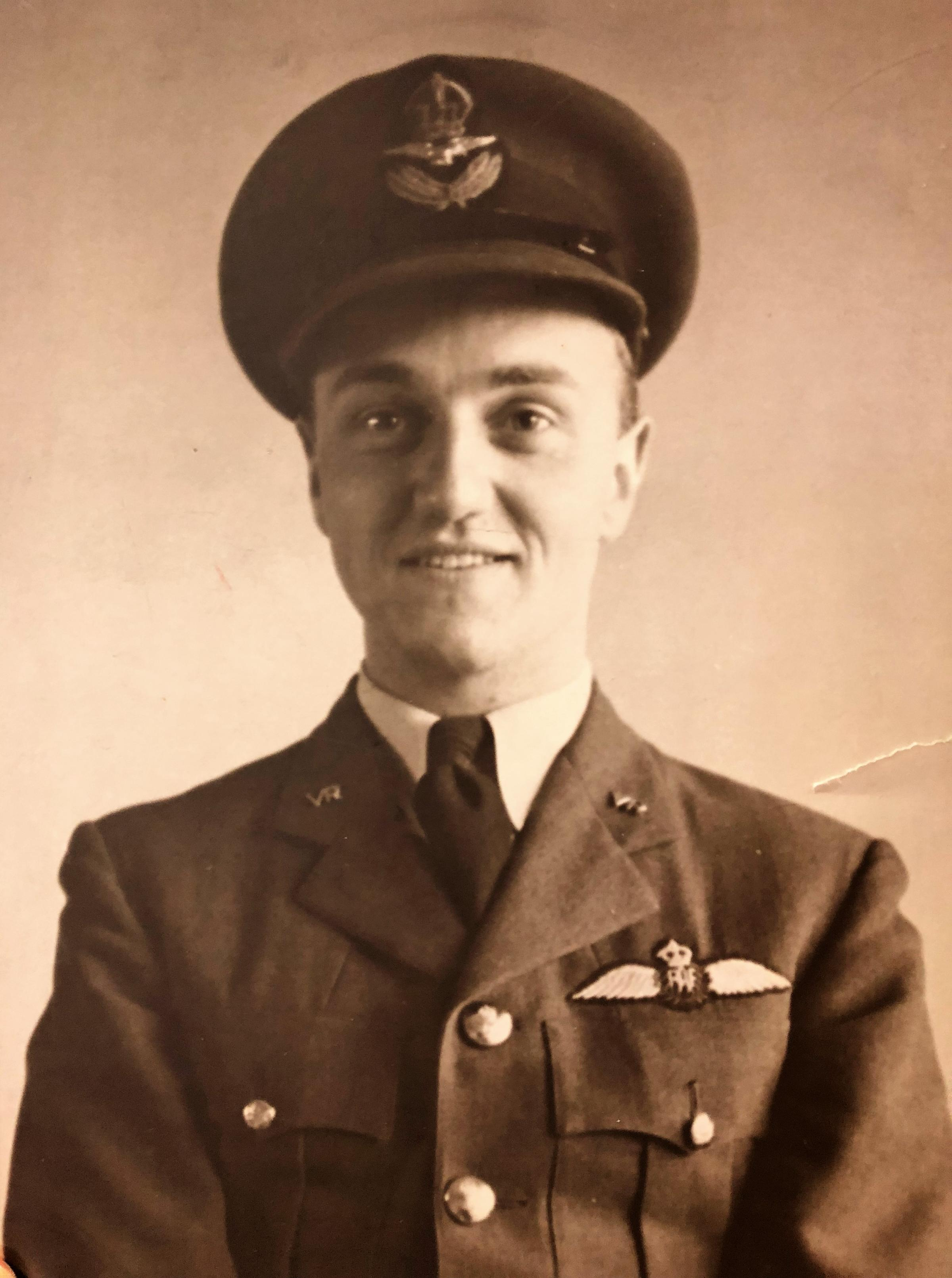 Old pilot uniform