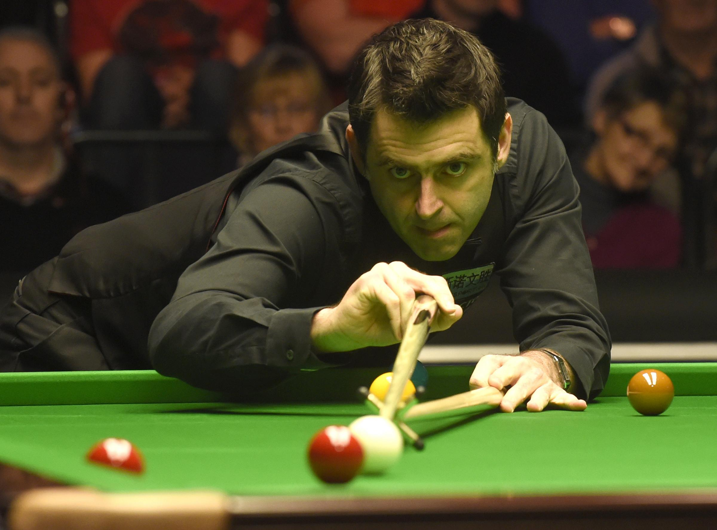 Ronnie O'Sullivan made the 15th maximum of his career. Picture: Action Images