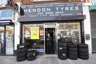 Welcome to Hendon Tyres