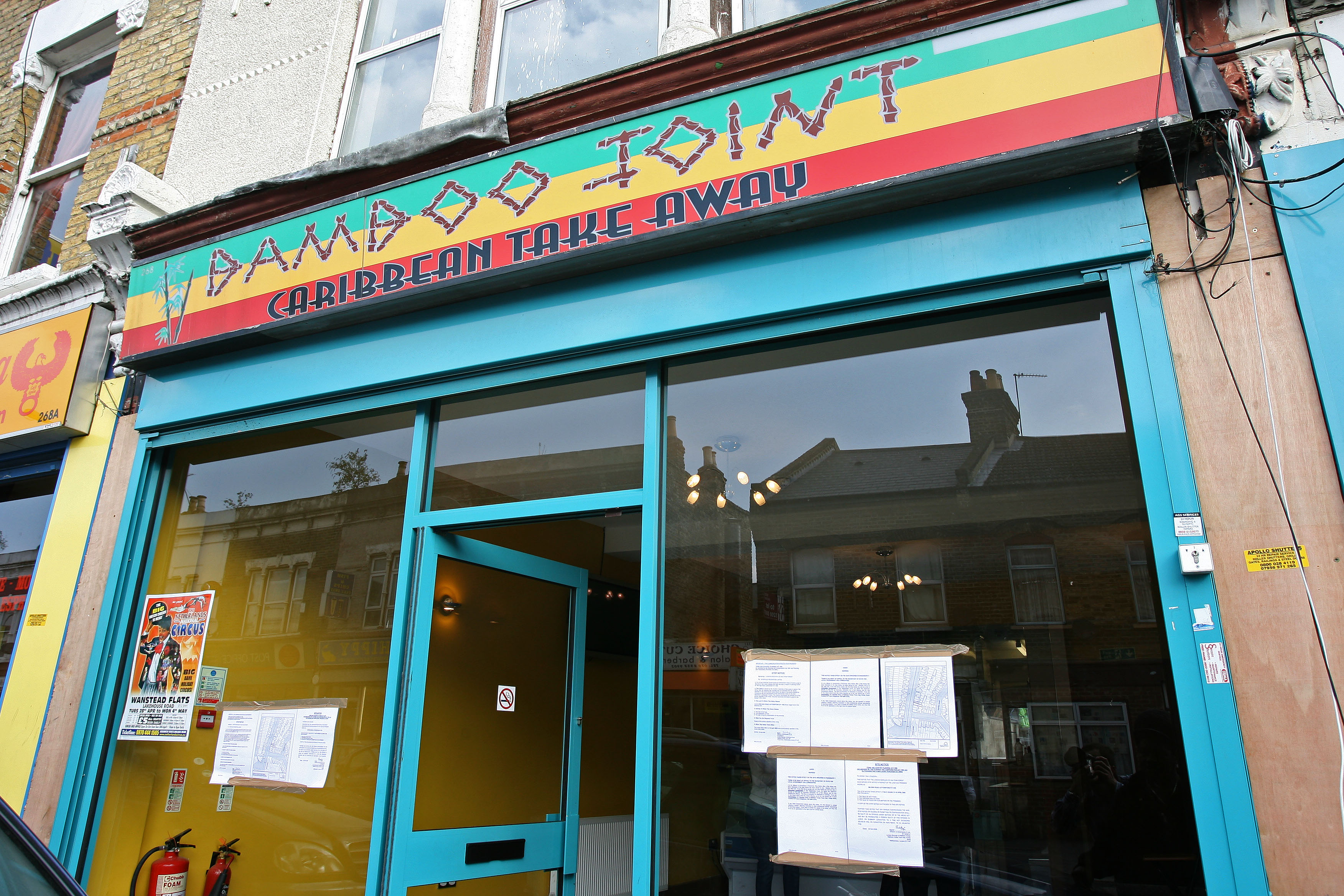 LEYTONSTONE: Takeaway closed for opening too close to