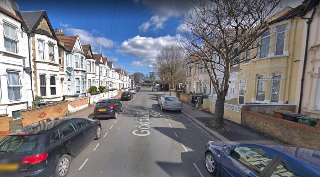 The shooting happened in Goodall Road, Leyton. Photo: Google Maps