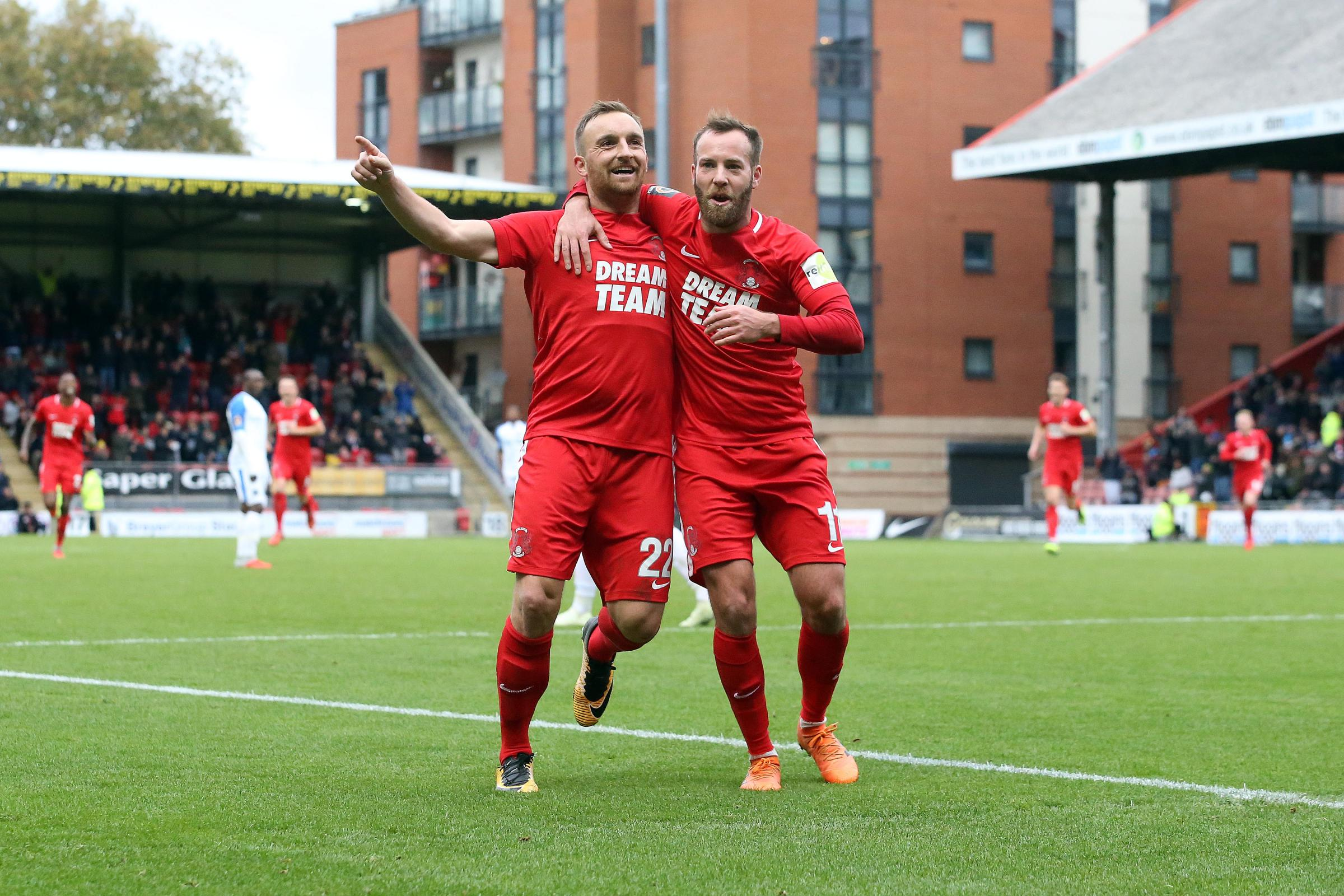 Leyton Orient have been boosted by the news that Charlie Lee's injury is not as serious as first feared. Picture: Simon O'Connor.
