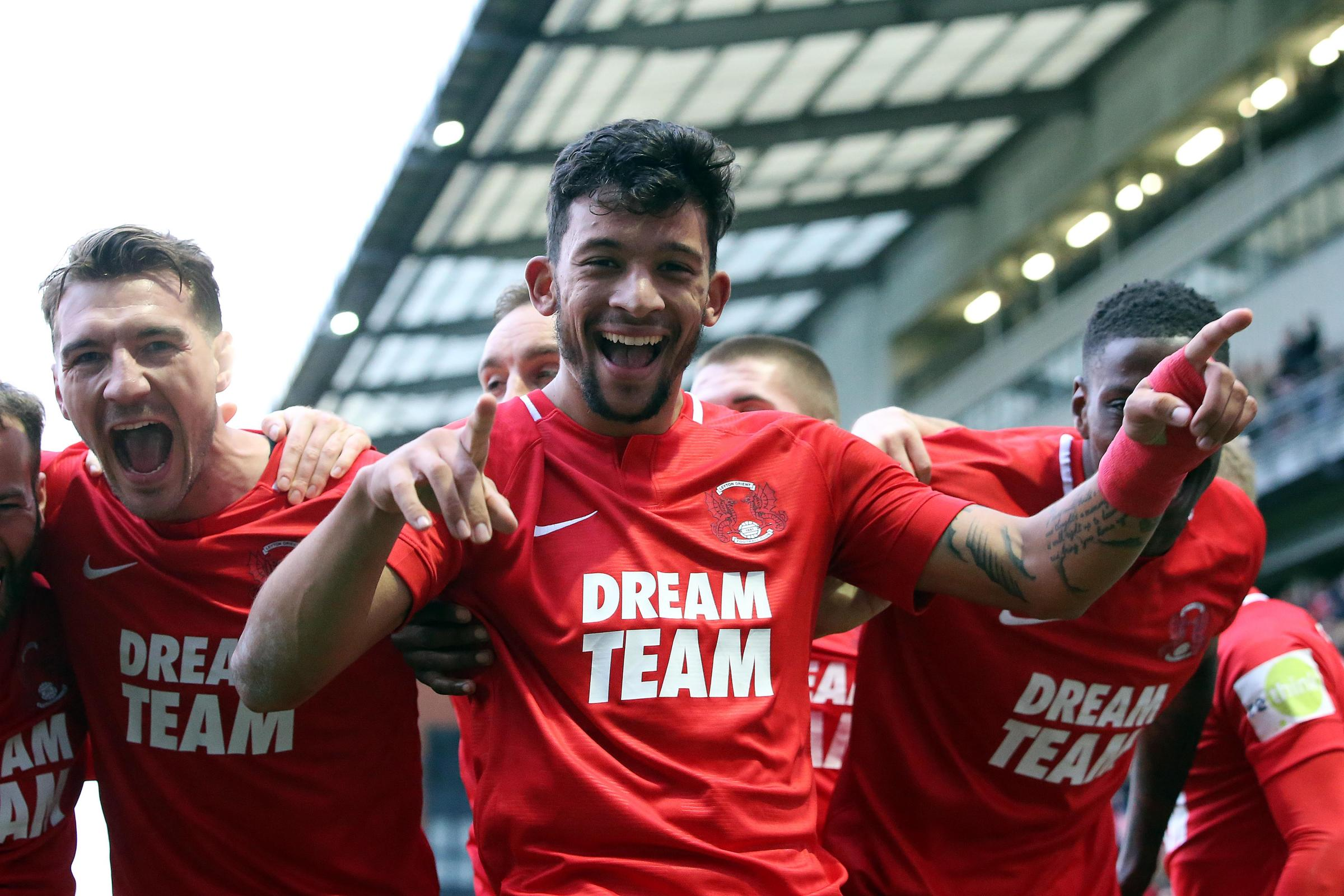 Macauley Bonne scored his twelfth of the season to earn Leyton Orient a point at Eastleigh. Picture: Simon O'Connor.