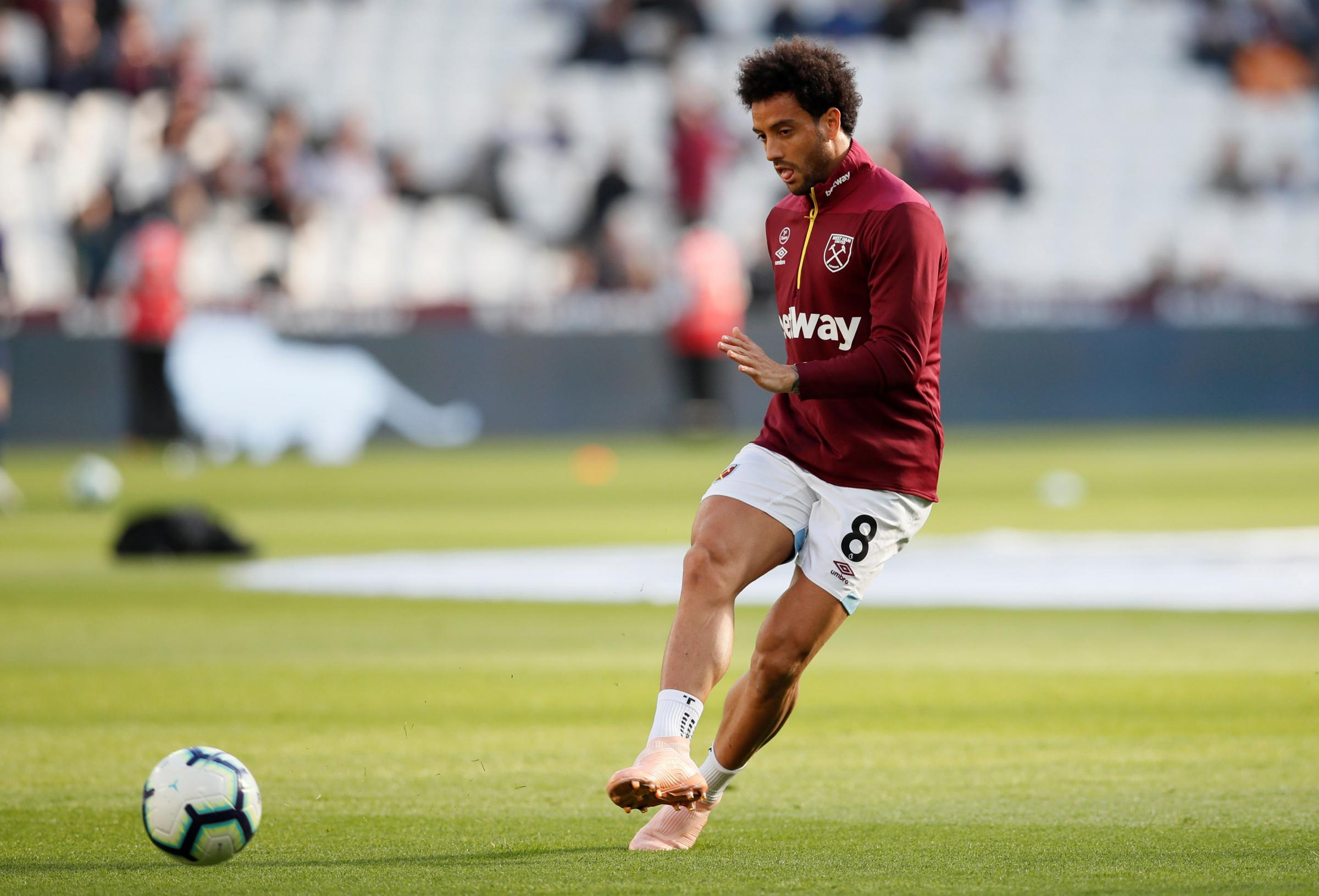 Felipe Anderson joined the Hammers from Lazio in the summer. Picture: Action Images