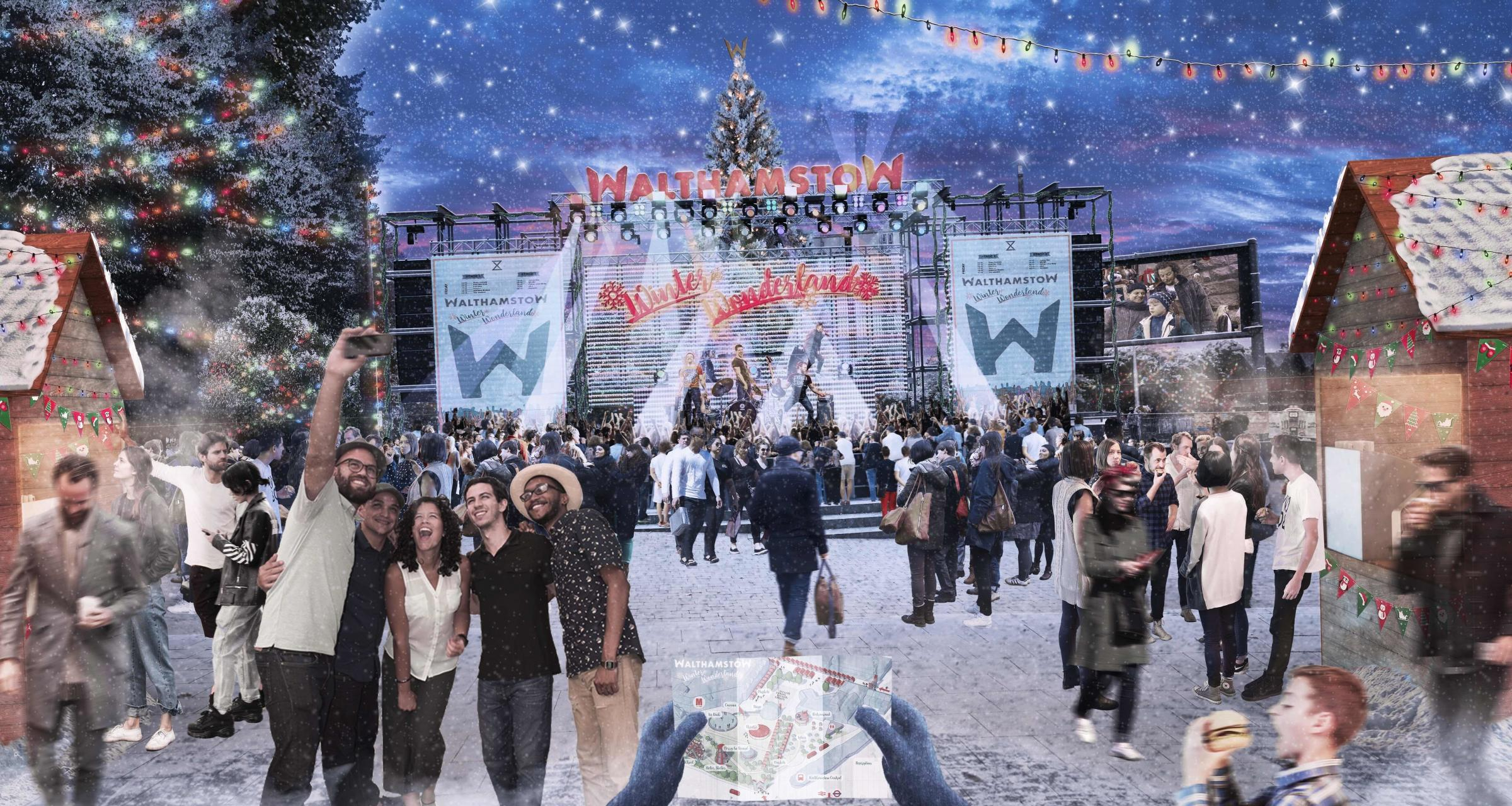 The first ever Walthamstow Winter Wonderland Christmas market will launch in December