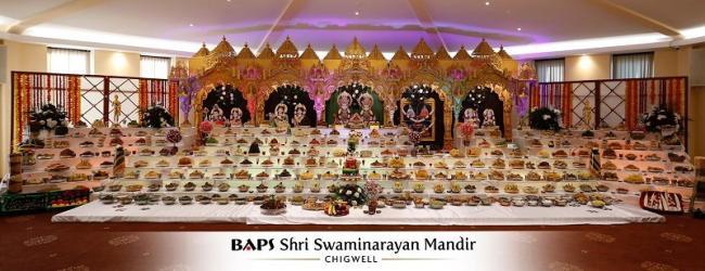 Baps Shri Swaminarayan Mandir In Chigwell Hosted Diwali Celebrations