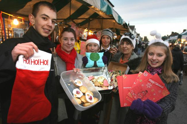 Youngsters enjoy the annual Epping Christmas Market