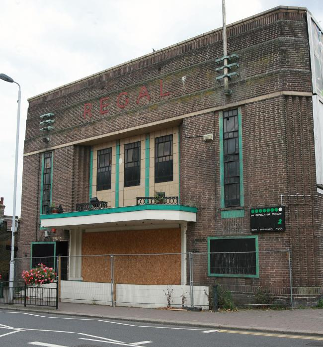 The Regal Cinema in Highams Park is lying vacant