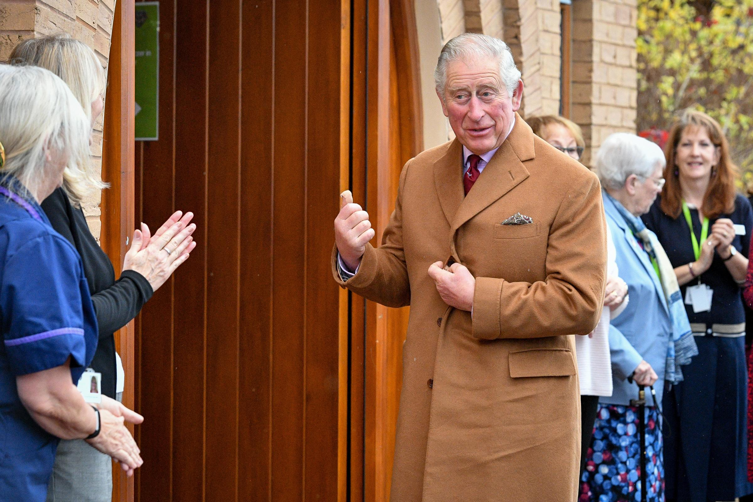 Prince of Wales at hospice