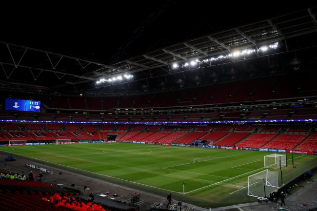 Spurs will face Manchester United at Wembley. Picture: Action Images