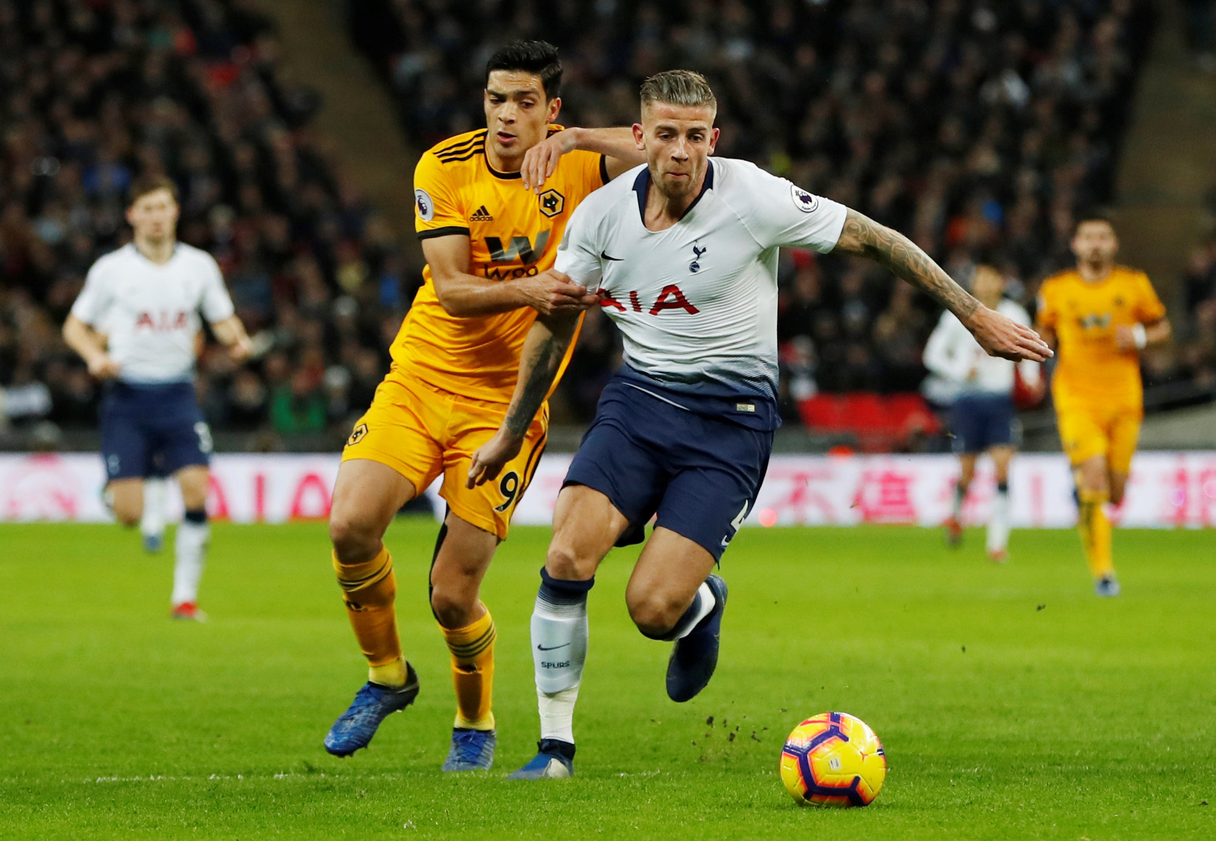 Toby Alderweireld was set to become a free agent at the end of the season. Picture: Action Images