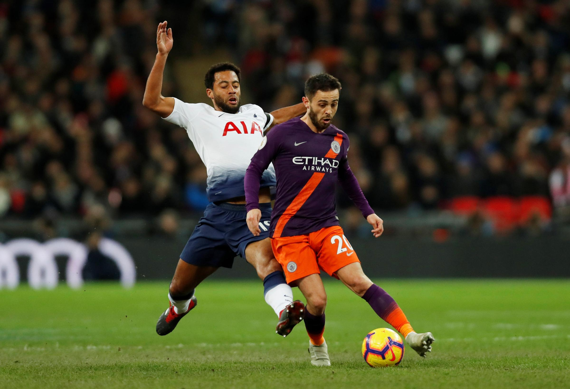 Mousa Dembele is set to complete a move to China. Picture: Action Images
