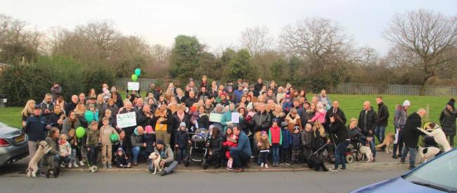 Brocket Way and Manford Way Protest Group
