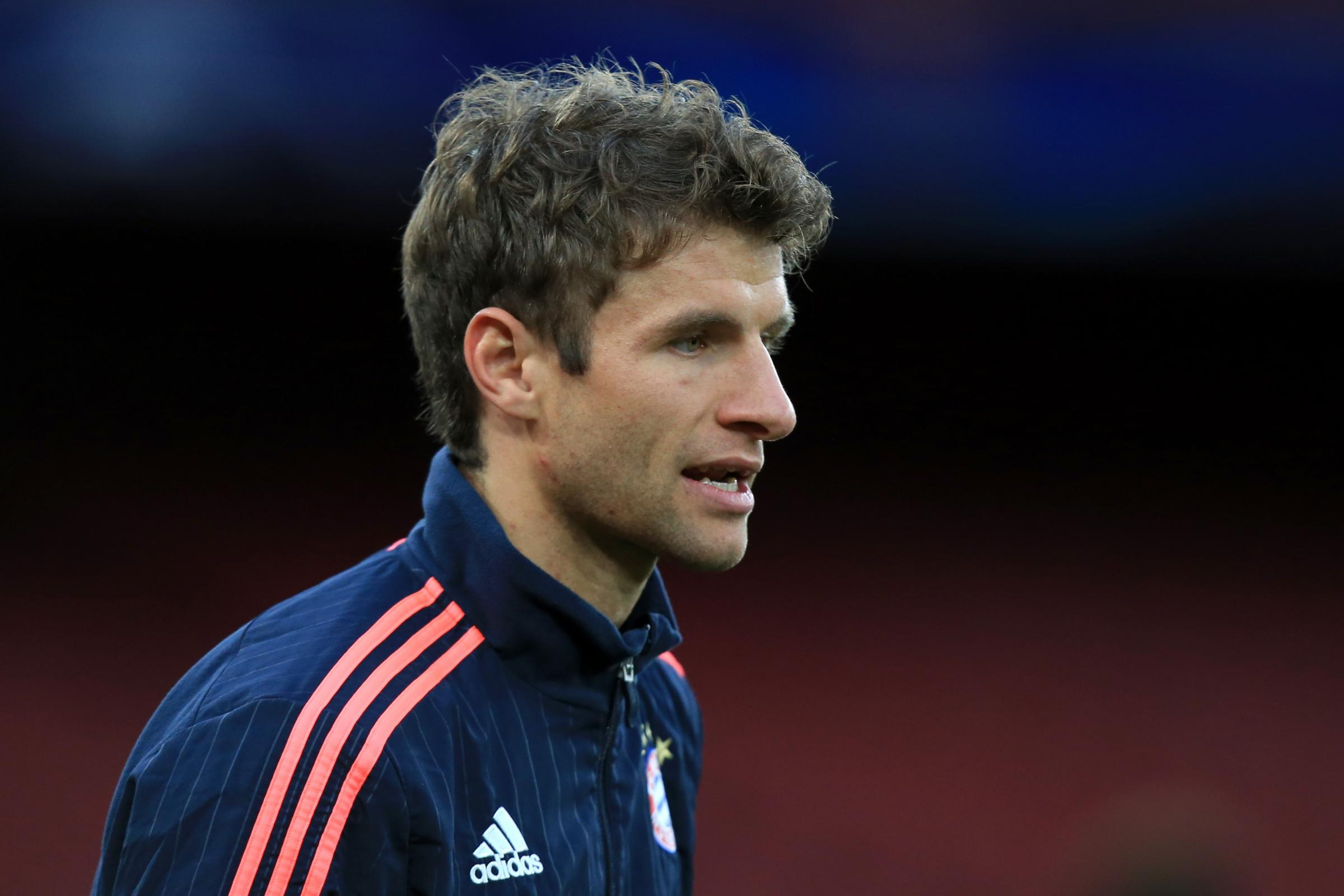 Thomas Muller has been hit with a two-match ban