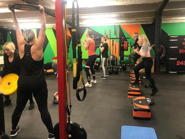 Abfabfit encourages older women to work out