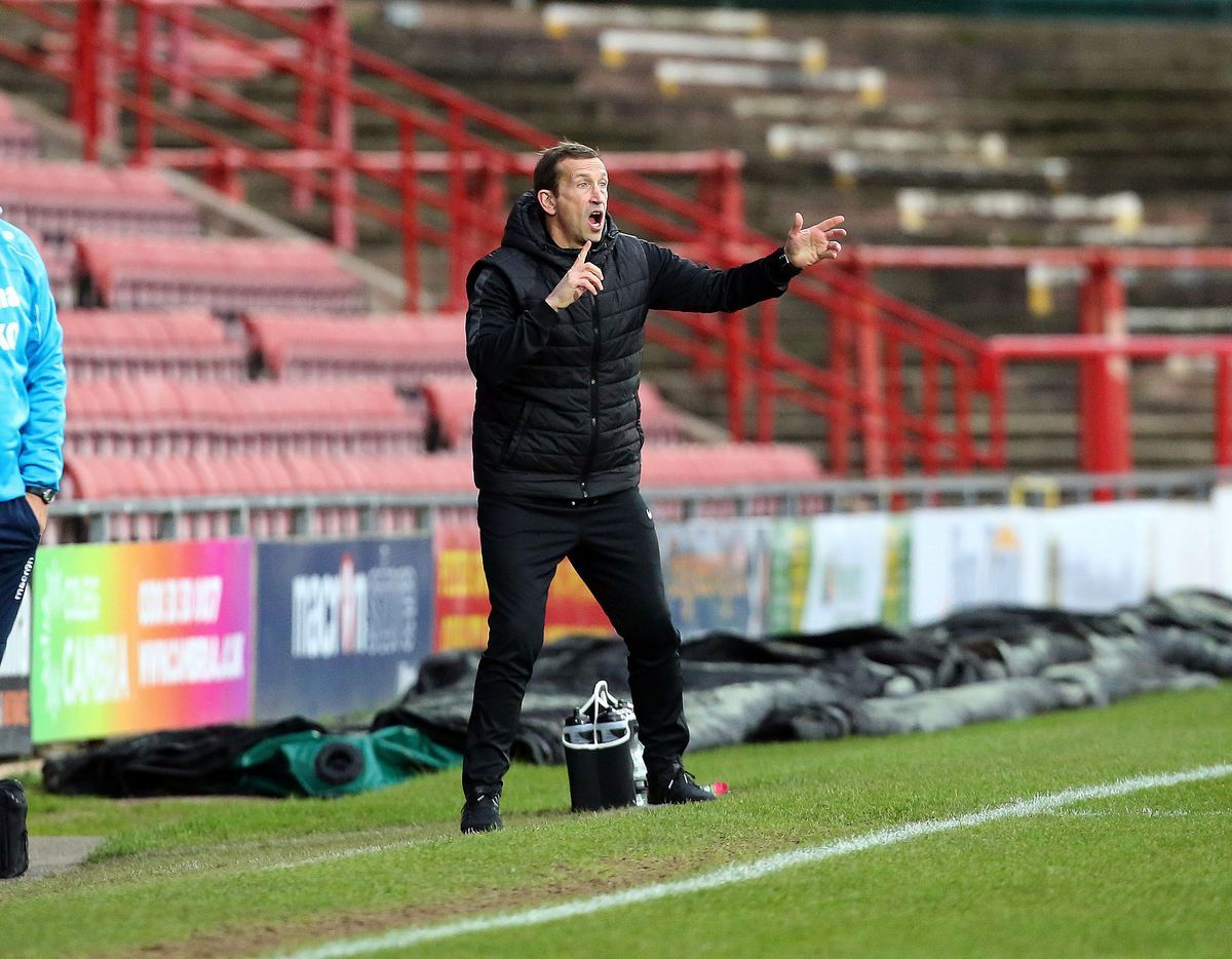'A really good week': Justin Edinburgh. Picture: Simon O'Connor