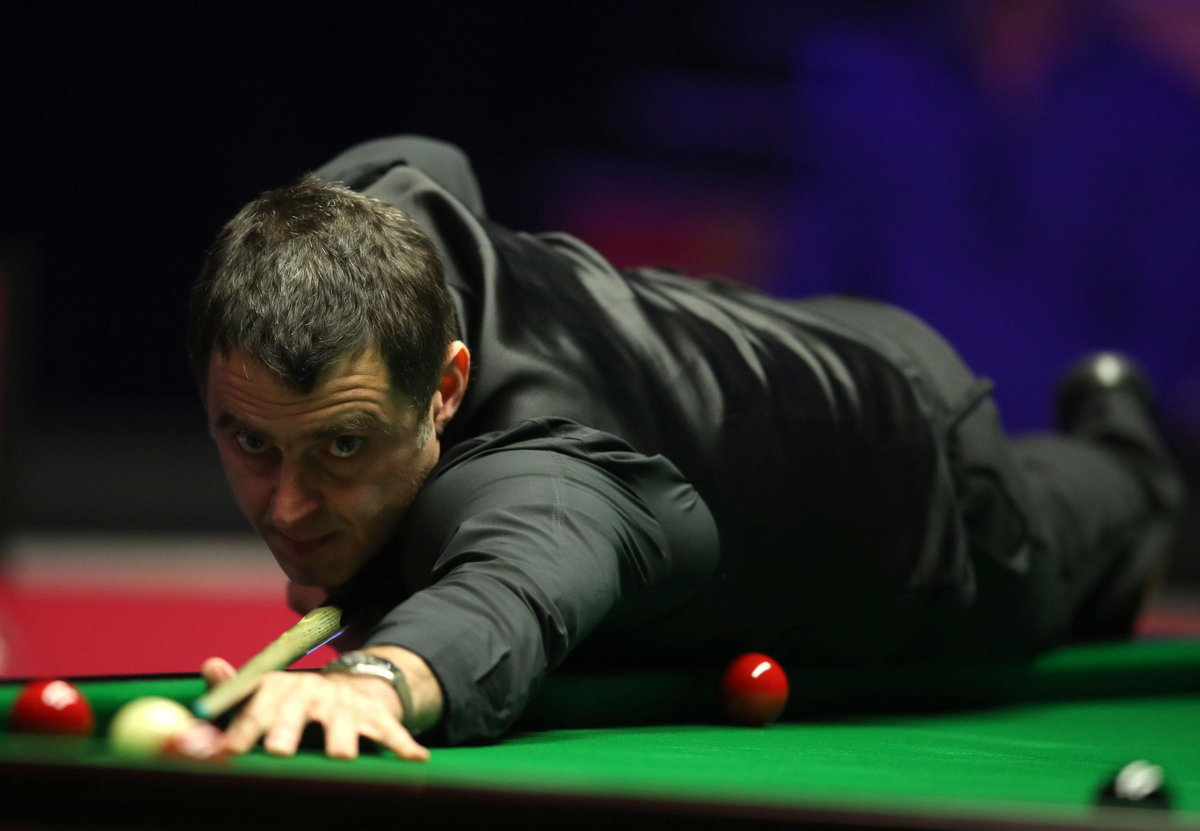 Ronnie O'Sullivan remains on course for an eighth Masters title. Picture: Adam Davy/PA Wire