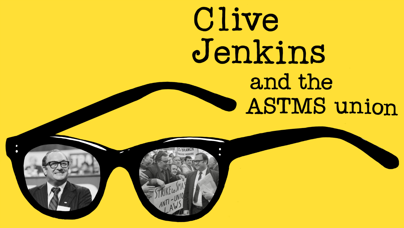 Clive Jenkins at Sutton House