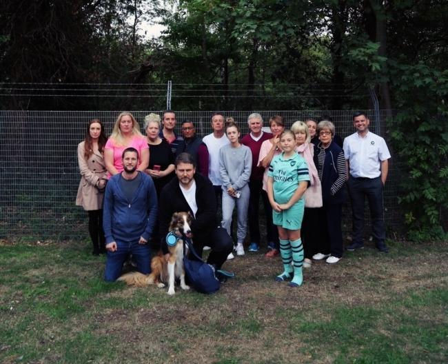 Chigwell residents do not want a stretch of woodland to be cut down by TFL