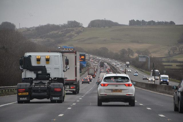 Traffic news: Severe delays on M25 and A1, good TFL service