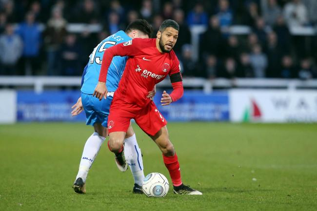 Jobi McAnuff in action for Leyton Orient against Hartlepool United. Picture: Simon O'Connor