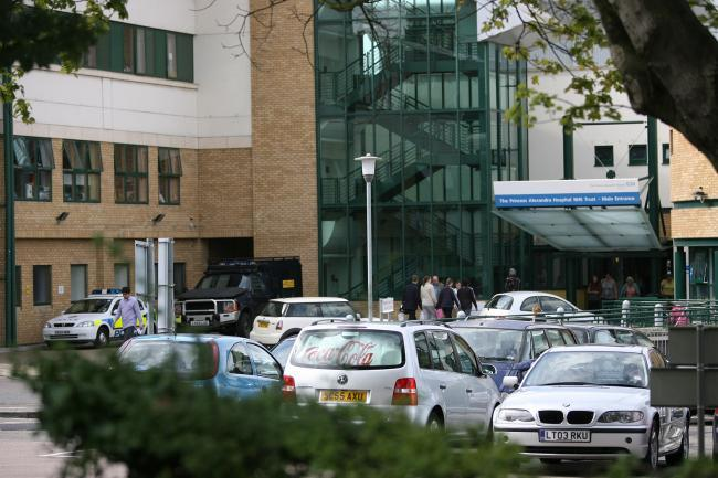 Princess Alexandra Hospital in Harlow.