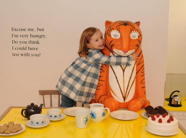 Children's book The Tiger Who Came To Tea inspires
