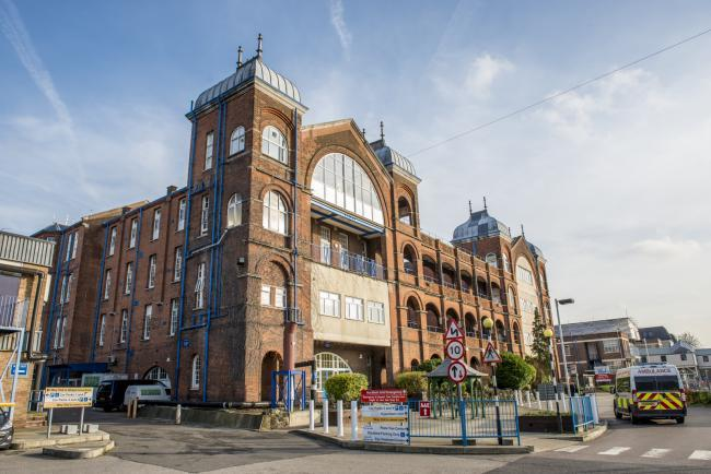 The redevelopment of the 100-year-old hospital is to be brought forward