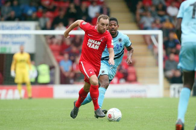 Charlie lee playing for Leyton Orient against Boreham Wood. Picture: Simon O'Connor