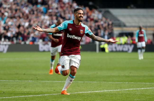 Manuel Lanzini is closing in on a return to action. Picture: Action Images