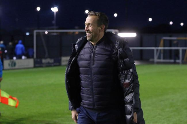 Justin Edinburgh after Leyton Orient's National League game against AFC Fylde. Picture: Simon O'Connor