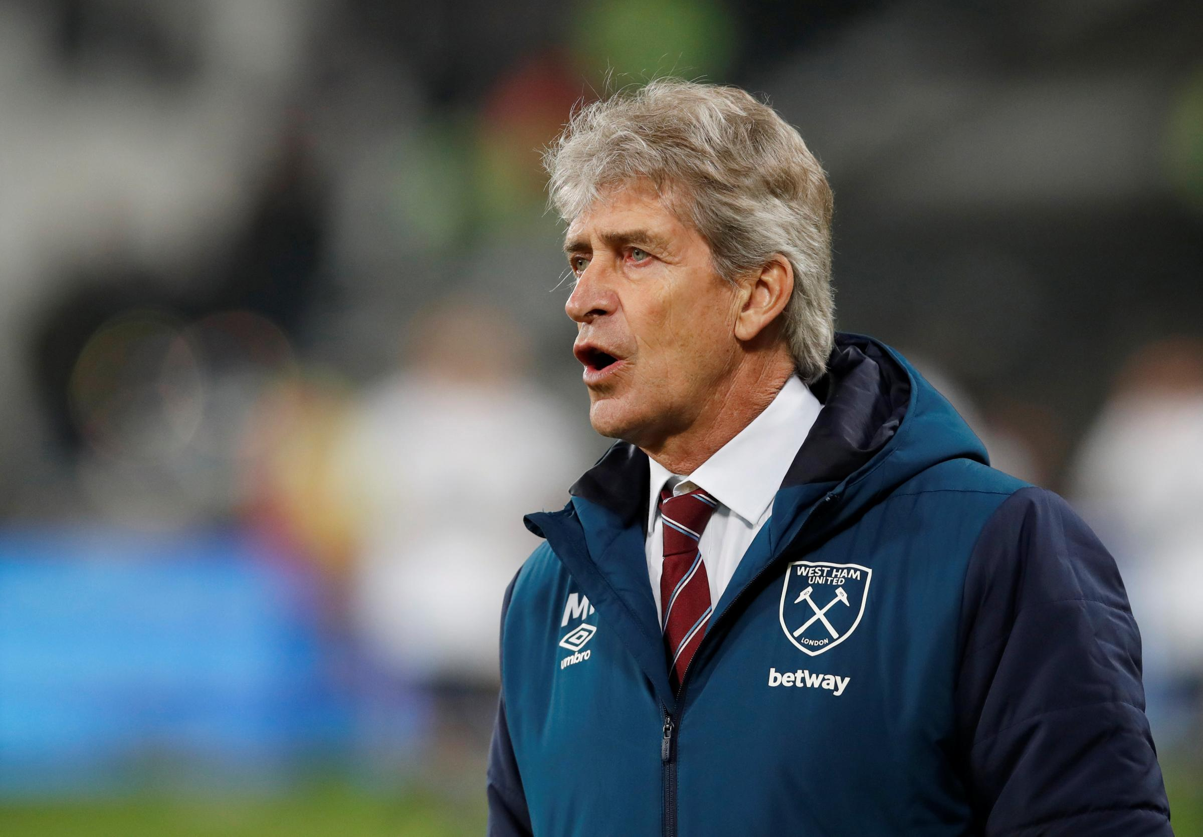 Manuel Pellegrini has never failed to qualify for Europe. Picture: Action Images