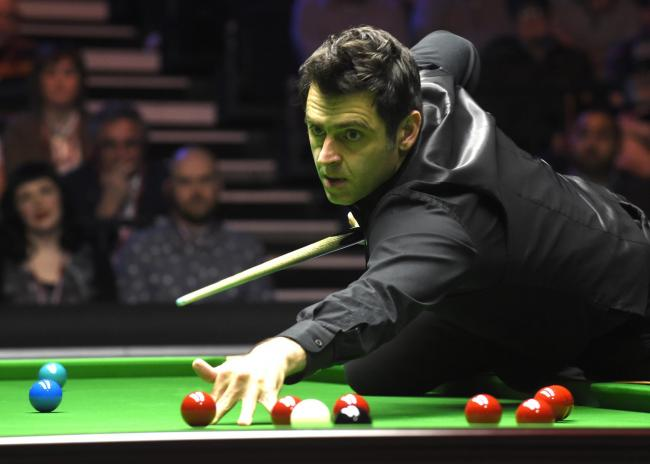 Ronnie O'Sullivan will face James Cahill in World Championship first round. Picture: Action Images