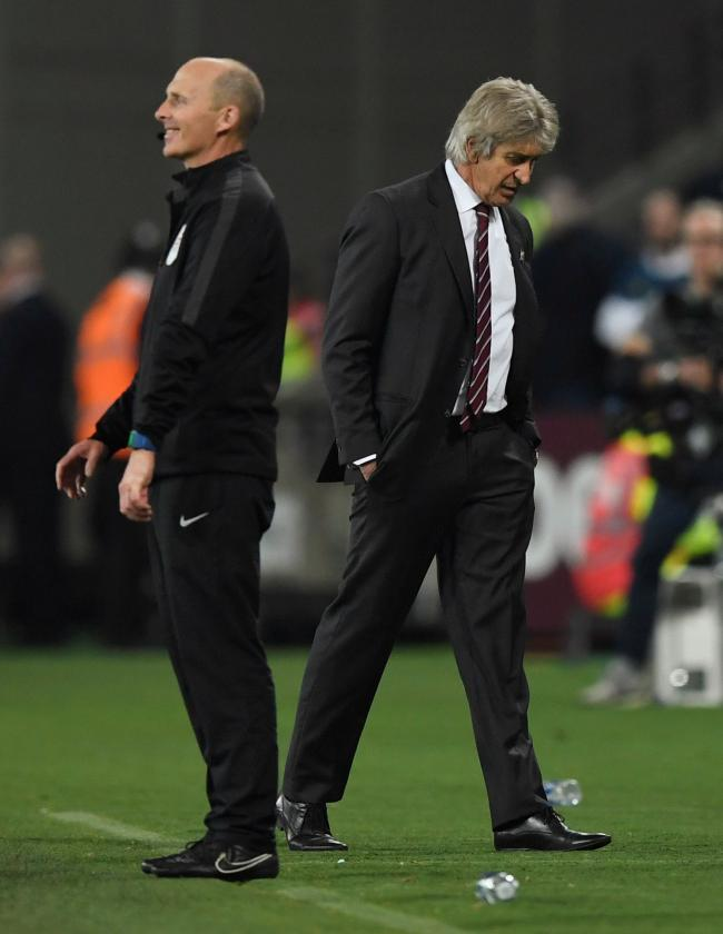 Manuel Pellegrini: 'We played very bad in both boxes.' Picture: Action Images