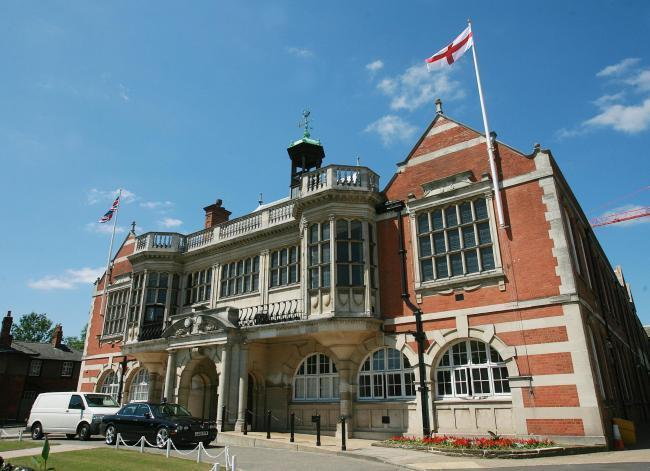 The fraud was discussed at a meeting at Hendon Town Hall