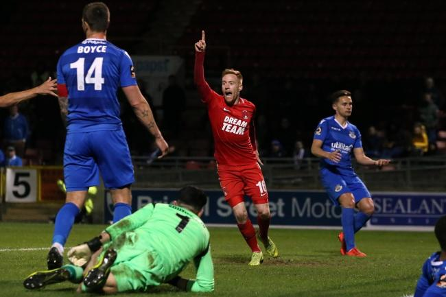 James Brophy netted the winner as Leyton Orient came from behind to beat Eastleigh in the National League. Picture: Simon O'Connor