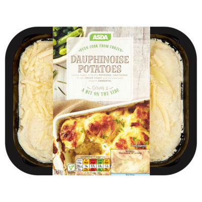 Dauphinoise potatoes. Asda has recalled a batch of the product because it might contain gluten